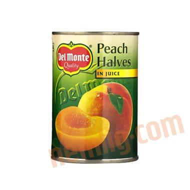 Halve ferskner - Konserveret Frugt