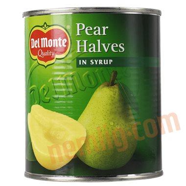 Halve pærer - Konserveret Frugt