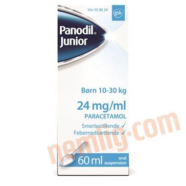 Panodil junior (mikstur) - Smertestillende