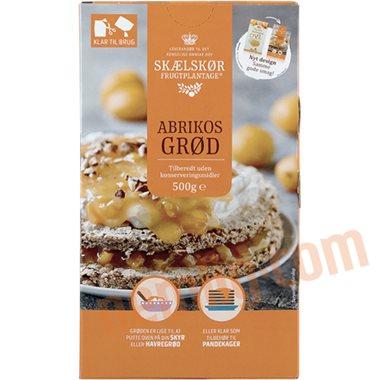Abrikosgrød  - Frugtgrød