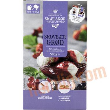 Skovbærgrød  - Frugtgrød