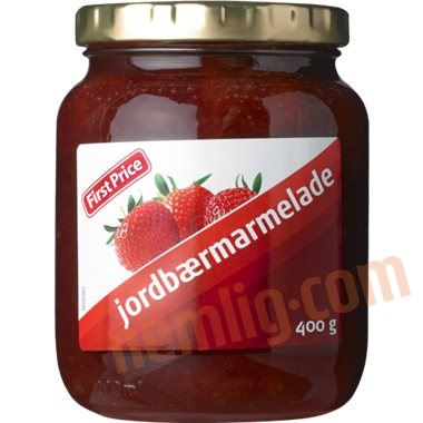 Jordbærmarmelade - Marmelade