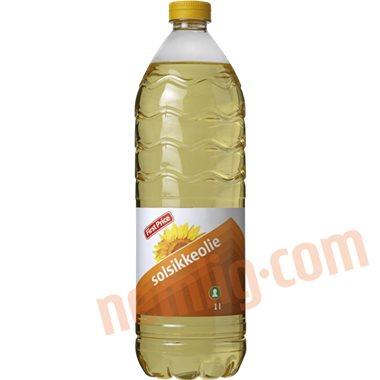 Solsikkeolie - Øvrig olie