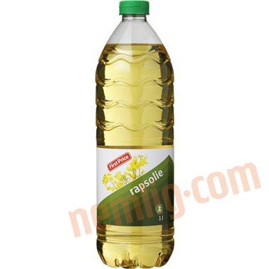 Rapsolie - Øvrig olie