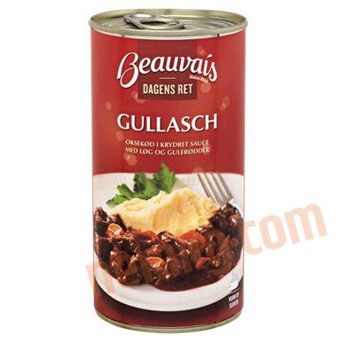 Gullasch  - Færdigretter, konserves