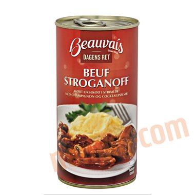 Beuf stroganoff - Færdigretter, konserves