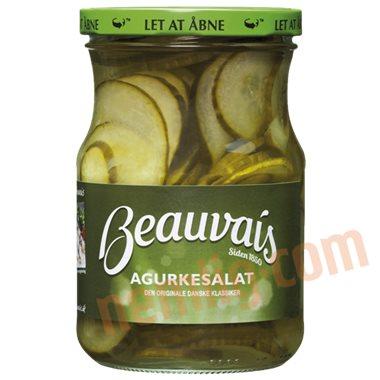 Agurkesalat - Syltede agurker