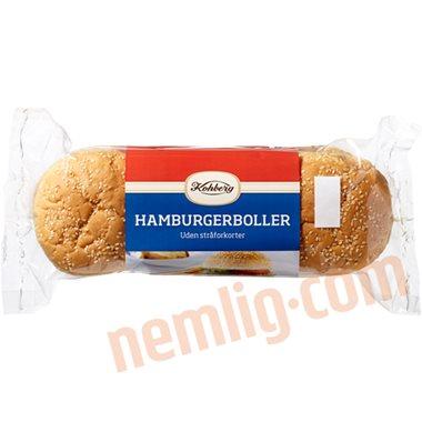 Hamburgerboller - Burgerboller