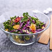 Powersalat med rødkål