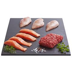 Kød- og fiskekasse til 3 dage
